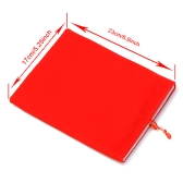 "Protective Double Cloth Sleeve Bag/Pouch for iPad Mini 8"" Tablet PC Kindle Fire MID Red"