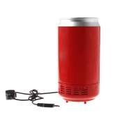 Red Mini USB PC Fridge Beverage Drink Cans Cooler & Warmer