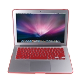 "Matte Hard Shell Case Keyboard Protector Cover for MacBook Air 11"" Red"