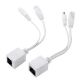 Passive Power over Ethernet  PoE Adapter Injector + Splitter Kit 5v 12v 24v 48v