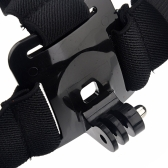 Elastic Adjustable Head Strap Belt Mount for GoPro Hero 4 3+ 3 2 1 HD Sport Camera ST-90
