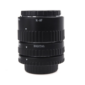 Electronic Mount TTL Auto Focus AF Macro Extension Tube Set Ring for Nikon D7100 D5200 D3200 D800 D800E D5100 D7000 D3100