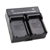 Dual Channel Battery Charger for LP-E8 Battery Canon EOS 550D 600D 650D 700D Camera