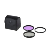 58mm UV+CPL+FLD Filter 3 Pieces Kit with Case for Canon Nikon Sony DSLR Camera