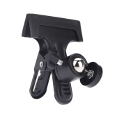 Multi-function Clip Clamp Holder Mount with Standard Ball Head 1/4 Screw for Photography