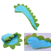Baby Infant Dinosaur Crochet Knitting Costume Soft Adorable Clothes Photo Photography Props for 0-6 Month Newborn