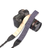 Camera Shoulder Neck Wave Point Strap Belt for Sony Nikon Canon Olympus Panasonic Pentax DSLR SLR