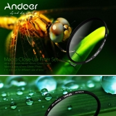 Andoer 67mm Macro Close-Up Filter Set +1 +2 +4 +10 with Pouch for Nikon D80 D90 D7000 Canon Tamron Sigma DSLRs