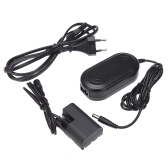 ACK-E6 AC 100-240V Power Adapter with DC Coupler Cable Kit for Canon EOS 60D/70D/6D/7D/5D/Mark II/III