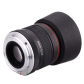 Kelda 85mm f/1.8 Manual Focus Portrait Lens for Canon EOS Camera