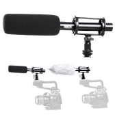 BOYA  BY-PVM1000 Condenser Microphone 3-pin XLR Output on DSLR Camera