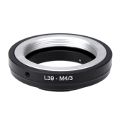 Andoer Adapter Mount Ring for Leica L39 Mount Lens to Micro 4/3 Mount Camera Olympus Panasonic DSLR Camera