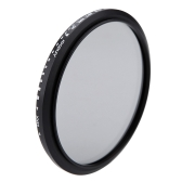 Andoer 82mm ND Fader Neutral Density Adjustable ND2 to ND400 Variable Filter for Canon Nikon DSLR Camera