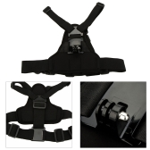 Andoer Adjustable Elastic Body Harness Chest Strap Mount Band Belt Accessory for Sport Camera GoPro Hero 4/3+/3/2/1 SJCAM