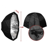 95cm / 37.4in Octagon Umbrella Softbox Brolly Reflector Tent Studio Photography Carbon Fiber Bracket  for Speedlite Flash Light