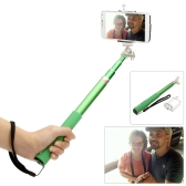 Firmcam Telescopic Extendable Handheld Selfie Self-Timer Rotatable Pole Grip Stick Monopod with Adjustable Phone Holder iPhone Samsung Sony Smartphones