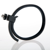 Adjustable Flexible Lens Follow Focus Gear Ring Belt for DSLR Camcorder Camera