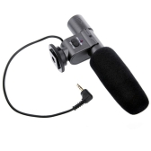 Professional Stereo Electret Condenser Microphone for 3.5mm Mic Digital Camera DSLR DV Handycam Camcorder SG-108