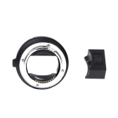 Auto Focus EF-NEX EF-EMOUNT FX Lens Mount Adapter for Canon EF EF-S Lens to Sony E Mount NEX 3/3N/5N/5R/7/A7 A7R AR7II Full Frame Black