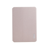 dodocool 360 Degree Rotating PU Leather Swivel Flip Stand Case Cover Protective Shell for iPad mini with Retina display Gold