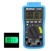 HoldPeak HP-90EPC Auto Range Digital Multimeter DMM Cap.HZ Temperature Meter Battery Tester w/USB PC-Link & Auto LCD Backlight