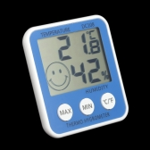 Digital LCD Thermometer Hygrometer Humidity Temperature Meter Indoor ℃/℉ with Comfort Level Icon