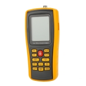 GM8903 Hot Wire Digital Anemometer Wind Speed/Air Flow/Temperature Meter Tester Measuring 0~30m/s with USB Interface & Slim Sensor