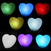 LED Christmas Light crystal heart