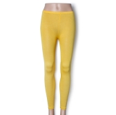New Women Lady Leggings Candy Color Stretch Tights Pants Ankle Length Ginger