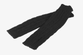 Fashion Winter Men Women Gloves Mitten Warm Knitted Fingerless Arm Long Unisex