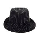 New Fashion Boy Girl Jazz Hat Topper Cool Fedora Curly Brim Baby Kids Cap Unisex