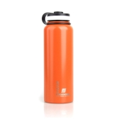 1000ML Stainless Steel Insulated Vacuum Cup Sports Water Bottle Orange