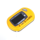 LCD Digital Fish Tank Aquarium Temperature Thermometer Water Terrarium Yellow