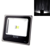 Ultrathin 50W 110-250V LED Spot Light Outdoor Waterproof Flood Garden Outdoor Lamp White