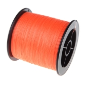 500M 30LB 0.26mm Fishing Line Strong PE Braided 4 Strands Orange