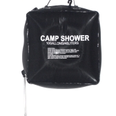 40L 10 Gallon Camping Hiking Solar Heated Camp Shower Bag Outdoor Shower Water Bag