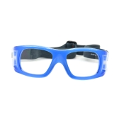 Sports Protective Goggles Glasses Eyewear for Sport Games Basketball Football Hockey Rugby Soccer Universal Blue