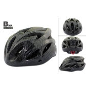 18 Vents Ultralight Integrally-molded Sports Cycling Helmet with Visor Mountain Bike Bicycle Adult