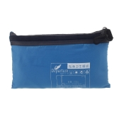 Ultra-light Single Polyester Pongee Healthy Sleeping Bag Liner Portable Camping Travel Sleeping Bag Blue