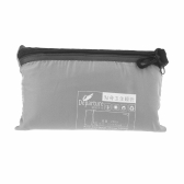 Ultra-light Single Polyester Pongee Healthy Sleeping Bag Liner Portable Camping Travel Sleeping Bag Grey