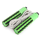 Automatic Jump Counter Adjustable Skipping Rope Jumping Exercise Fitness Training Gym Sports Foam Sponge Handle Green