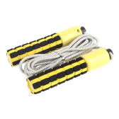 Automatic Jump Counter Adjustable Skipping Rope Jumping Exercise Fitness Training Gym Sports Foam Sponge Handle Yellow