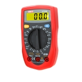 UNI-T UT33B Palm Size DC/AC Voltage DC Current Resistance DMM Digital Multimeters W/ Battery Test