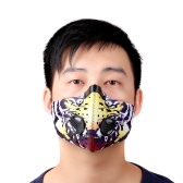 Cycling Bicycle Motorcycle Riding Outdoor Sports Ski Snowboard Activated Carbon Protective Filter Face Mask Thermal Wind-proof Anti-pollution Dustproof Mouth-muffle PM2.5