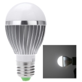 E27 7W Sound & Light Sensor Auto Detection LED Light Lamp Bulb AC85-265V