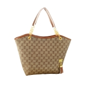 Fashion Vintage Women Handbag Tassel Decoration Canvas Chain Tote Shoulder Bag