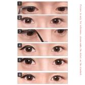 60 Pair Waterproof Shimmering Powder Double Eyelid Stickers 3D Beautiful Eyelid Tape Beauty Eyeliner Tape