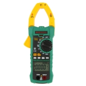 MASTECH MS2115B True RMS Digital AC/DC Clamp Meters Capacitance Frequency Tester W/USB Interface & NCV