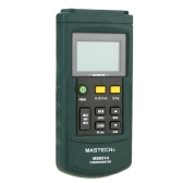 MASTECH MS6514 Digital Thermometer Dual-channel Temperature Sensor for K/J/T/E/R/S/N Thermocouple w/USB Interface
