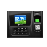 "Realand 2.8"" TFT LCD Display Biometric Fingerprint Attendance Machine ID Card Reader USB DC5V/1A Time Clock Recorder Employee Checking-in ZDC20"